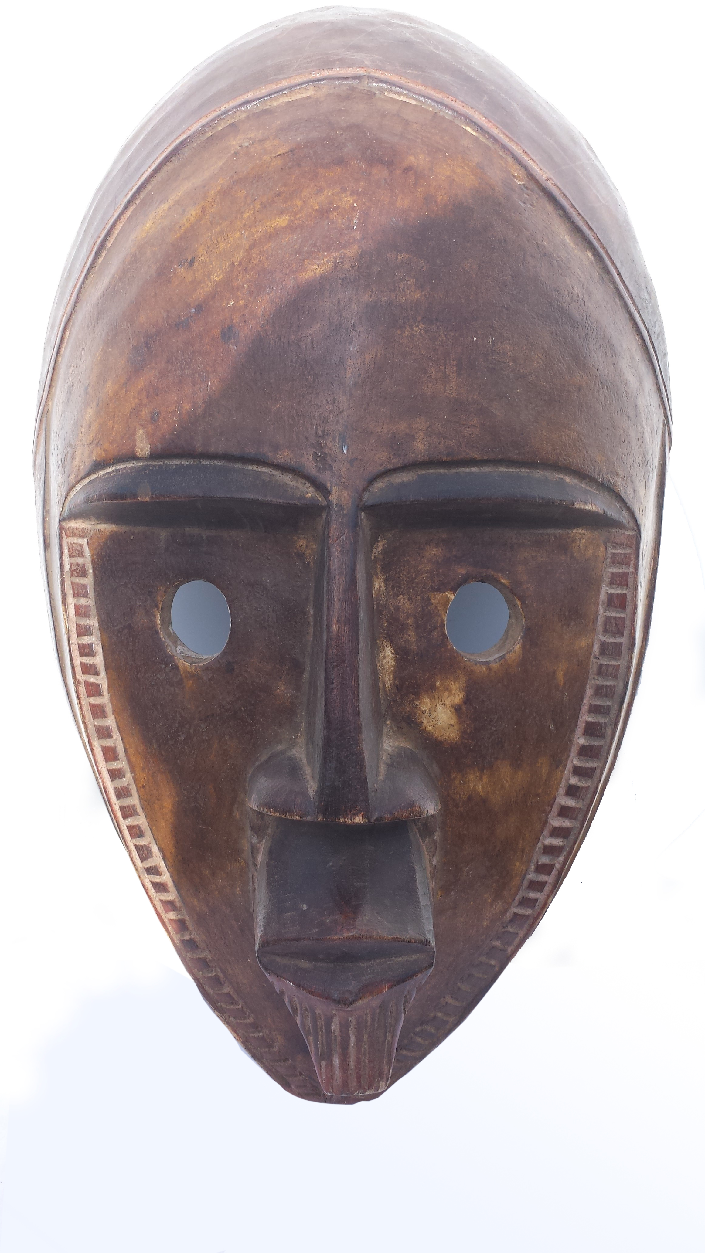 african mask african tribal mask of central africa drc