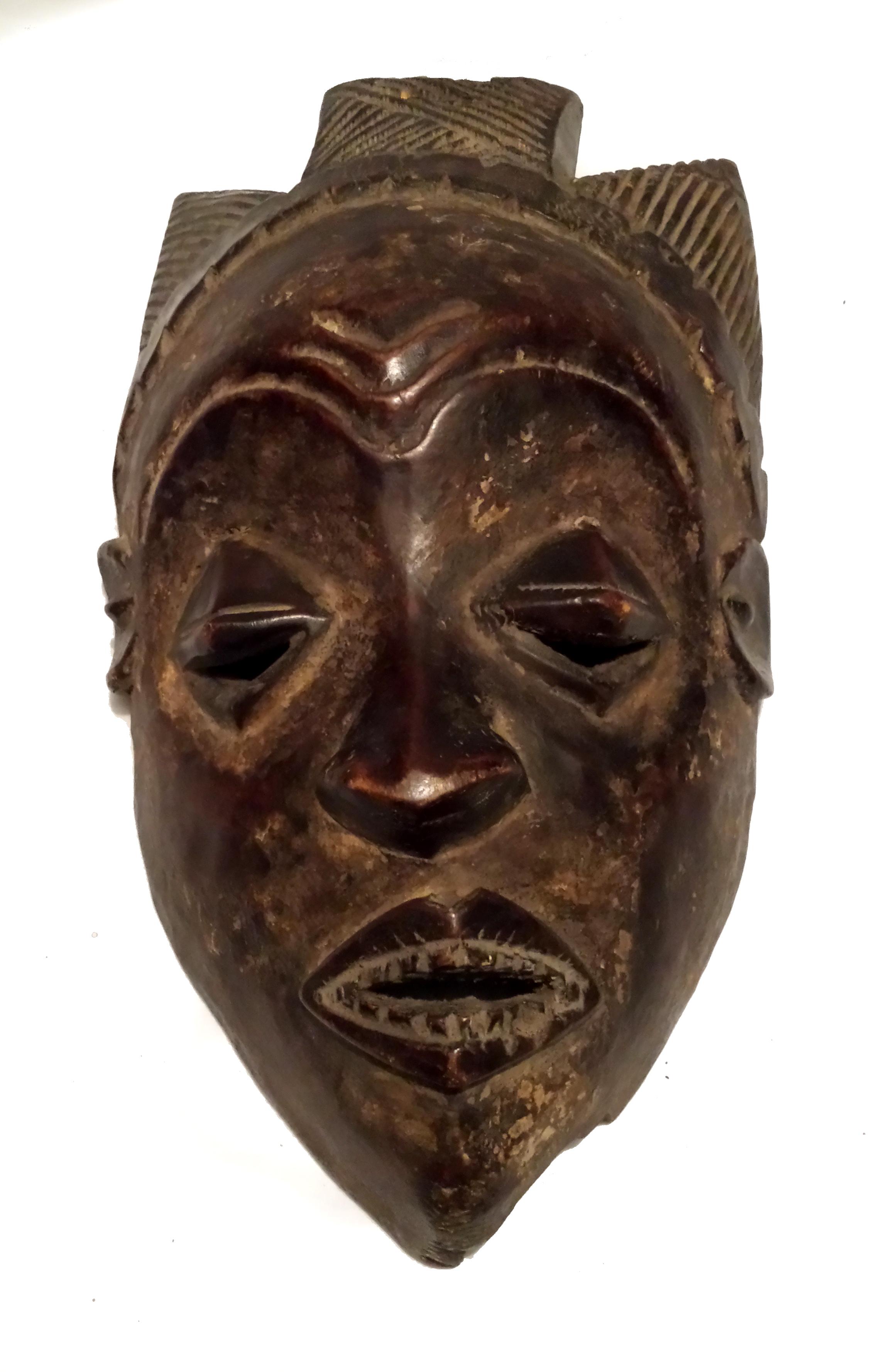 Baule African Mask Tribal Baule Mask Of Akan African