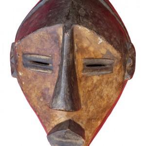 Chokwe African Mask01