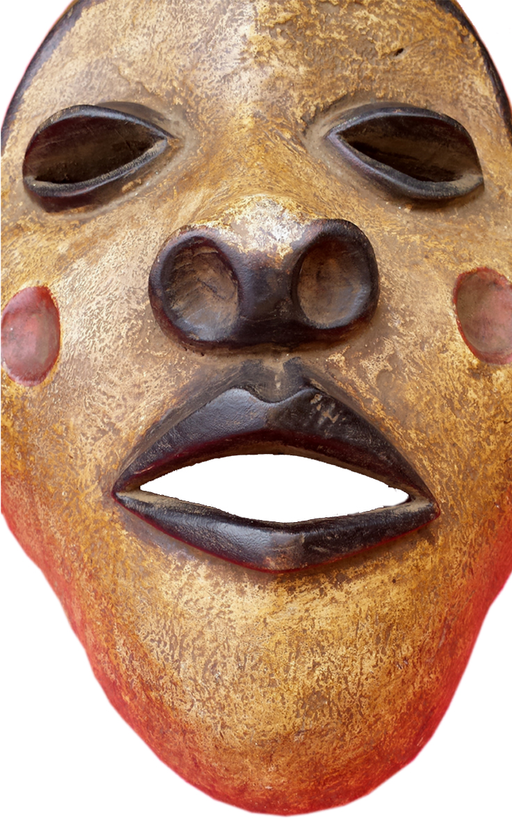 African Mask Dan Tribal Mask From Ivory Coast African